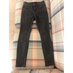 Joe's Jeans mid rise legging in grey 24